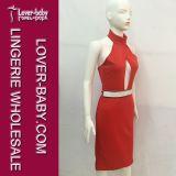 Elegantes Bodycon neues Form-Abend-Kleid für Mädchen (L36095)