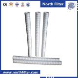 Tipo micro filtro em caixa da ferida do fio dos media dos PP de água