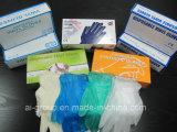 Luvas de vinil descartáveis em pó para uso geral