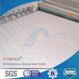Telhas de teto de gesso revestidas de vinil (7mm, 7.5mm, 8mm, 9mm)