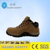 Prix bon marché occasionnel Semelle PU d'escalade Steel Toe en cuir véritable travail industriel étanche des chaussures de sécurité de travail
