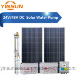 Pompe à eau solaire de C.C 24V 48V 200W pour le système solaire