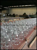 Freies ernstes Glaskerze-Glas-Glaskerze-Cup
