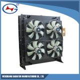 refrigeración por agua de aluminio modificada para requisitos particulares Td10d-50 Radiator&#160 de 12V190-800-X/(z);