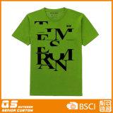 T-shirt fonctionnel de sport de l'impression des hommes