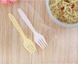 パンの夕食のための環境に優しいトウモロコシ澱粉の使い捨て可能なプラスチックフォーク