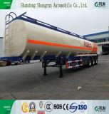 De vervaardiging-Beste Verkopende 45 Cbm van Shengrun Oplegger van de Tankwagen van de Olie