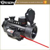 赤いレーザーとのAirsoft 1X30 R&Gの点のスコープの視力