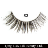 Lili 아름다움 형식 3D 합성 머리 가짜 속눈썹 공장 가격 가짜는 지구 개인 상표를 채찍질한다