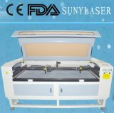 Автомат для резки лазера шерстей СО2 быстрой скорости с 2 головками