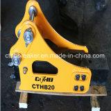 掘削機のための側面のタイプ油圧ブレーカか油圧ハンマー