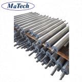 Usinagem de precisão de aço personalizado do Rolete da Esteira Transportadora Industrial