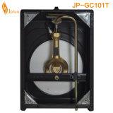Fornello di gas del bruciatore del rivestimento grigio di Jp-Gc101t singolo Sri Lanka