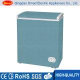 Il mini surgelatore orizzontale della cassa di colore, colora il mini congelatore della cassa, surgelatore