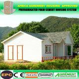 Casa prefabricada modular móvil de dos pisos para acampar del apartamento del dormitorio