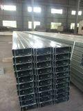 Acero galvanizado caliente del perfil de HDG C del DIP