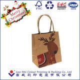 Рождество мешок для упаковки с индивидуального логотипа
