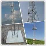 De mobiele Antenne van TV van Telefoons de Vierkante Toren van de Pijpen van het Staal voor Mededelingen