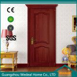 Porta de madeira de PVC para apartamento / projeto de hotel (WDHO1)