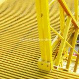 Le PRF BPE en plastique renforcé de fibre de verre de la voie de l'escalierFRP Pultrusion grincement
