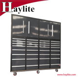 Metal móvil Sistema de Armario de herramientas de garaje con puertas