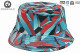Sombrero del compartimiento del poliester del diseño de la manera con el gráfico geométrico