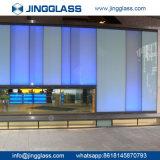 Le prix bon marché le plus inférieur tout le mur en verre de construction teinté par couleurs en gros