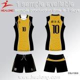 Il prezzo poco costoso di Healong Cina mette in mostra le uniformi di pallavolo di generi stampate Digital dell'attrezzo