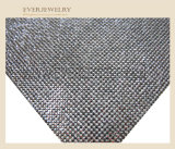 24 * 40 Hot Fix Résine Stone Sheet Mesh strass