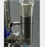 Rauch-graues Glasrauch-Rohr-blaues Bienenwabe-Filter-Wasser-Rohr