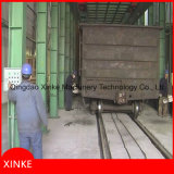 Behälter-Arbeits-Auto-Granaliengebläse-Maschine Qwh30