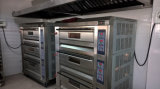 Four de pain de four de gaz de paquet de boulangerie d'acier inoxydable dans le matériel de boulangerie