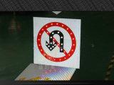 De draaiende Raad van de Verkeersteken van het Aluminium van het Teken van de Begeleiding Zonne Aangedreven