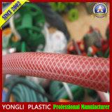 섬유에 의하여 강화되는 PVC 땋는 호스