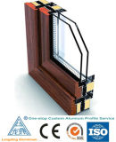L'alluminio di prezzi di fabbrica si è sporto profilo per il portello e la finestra di alluminio