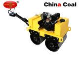 Caminhada do motor de gasolina Zm-50 atrás do compressor manual do rolo Vibratory
