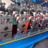 機械を形作る標準的な電流を通されたアルミニウムカラー鋼鉄屋根のリッジの帽子のタイルロール
