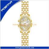 ステンレス鋼バンドスイス人の腕時計を持つ女性のための豪華なカラーデザイン