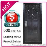 Economia de baixo preço, aço barato a porta de segurança para a construção do projeto (EF-C001)