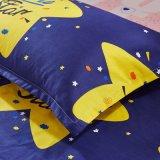 Omeの工場は安くポリエステルカスタム寝具セットを印刷した