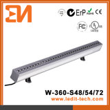 Arandela de la pared de la iluminación de la fachada de los media del LED (H-360-S72-RGB)