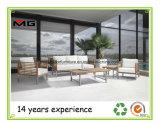 Caliente la venta de muebles de madera de teca moderno Jardín Sofá