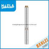 1HP 100qj3シリーズHanleiの深い井戸の良質の水ポンプ