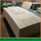 La peau de porte en bois de placage pour les marchés étrangers