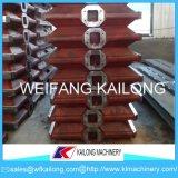 Matraz de Molulding del precio bajo, producto dúctil del rectángulo del molde de la arena de hierro