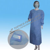 격리 Visit Gown, Lab Workers, Doctors를 위한 PP Nonwoven Gown