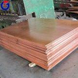 Hoja de cobre para el material para techos, hoja de cobre gruesa