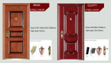 Segurança de Porta de Metal de porta a porta de entrada de porta de aço