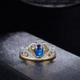 Ontwerp van de Ring van de Namaakbijouterie van de Manier van de Tiara van de kroon het Bijkomende