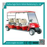 Электрические поля для гольфа тележки, 6 мест, 5 квт мотор переменного тока